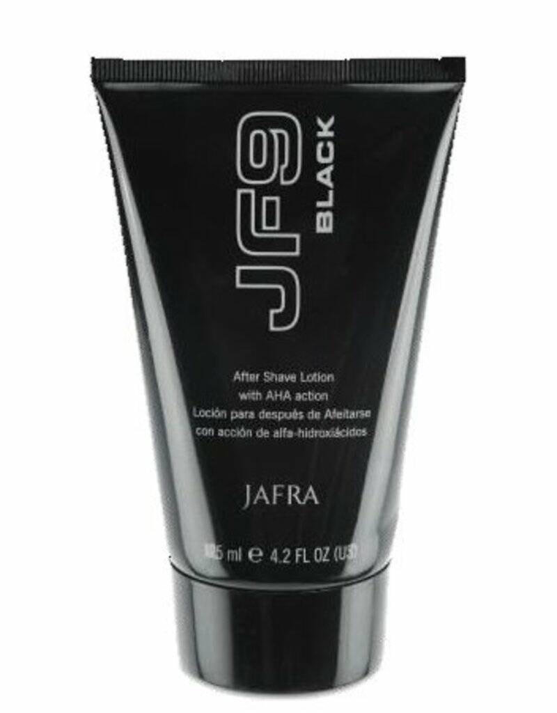 JF9 Black After Shave Lotion with AHA-action