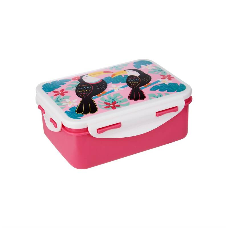Tiki Toucan Lunch Box