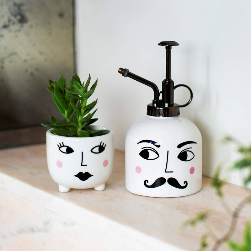 Mister and Mrs plant set