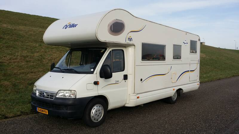 Fiat Ducato 2.8 JTD Mobilvetta Miller 6 persoons, 2 x airco, cruise control