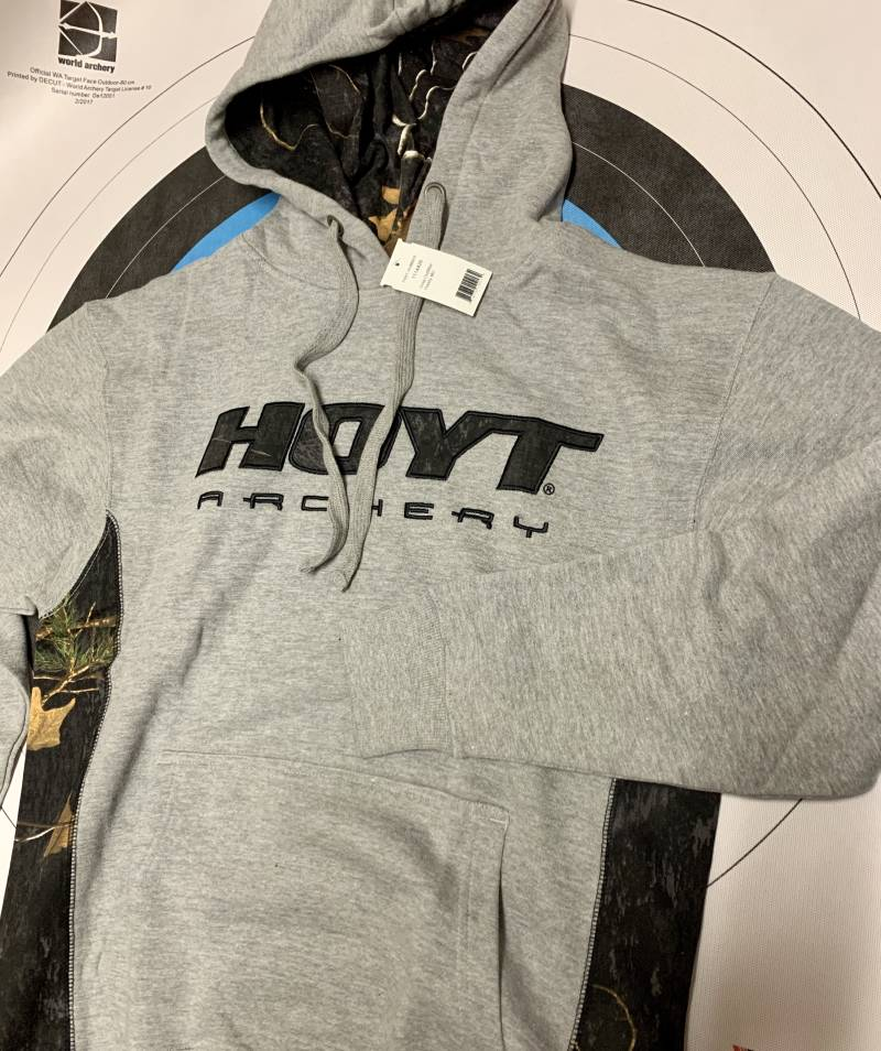 HOYT Gray Outfitter Hoody