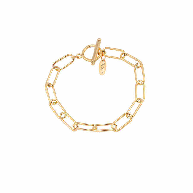 BY SHIR ARMBAND CHAIN FOREVER CLOSE GROF GOUD