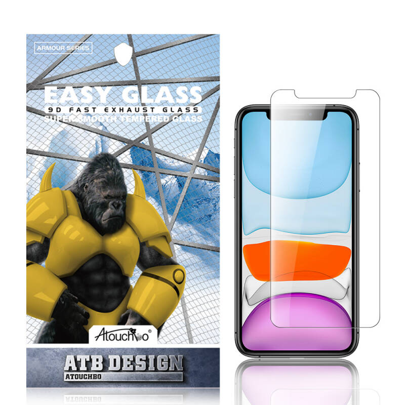 ATB DESIGN SCREEN PROTECTOR 2.5D TEMPERED GLASS IPHONE XR/11