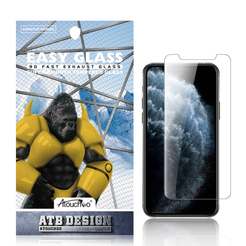 ATB DESIGN SCREEN PROTECTOR 2.5D TEMPERED GLASS IPHONE X/XS/11 PRO