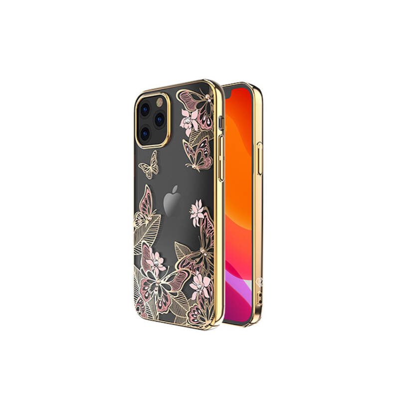 Kingxbar Butterfly BackCover iPhone 12 Pro Max 6.7'' Roze