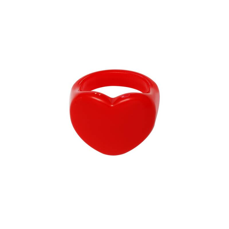 Heart Ring Red