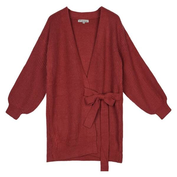 Cardigan Wrapped Long