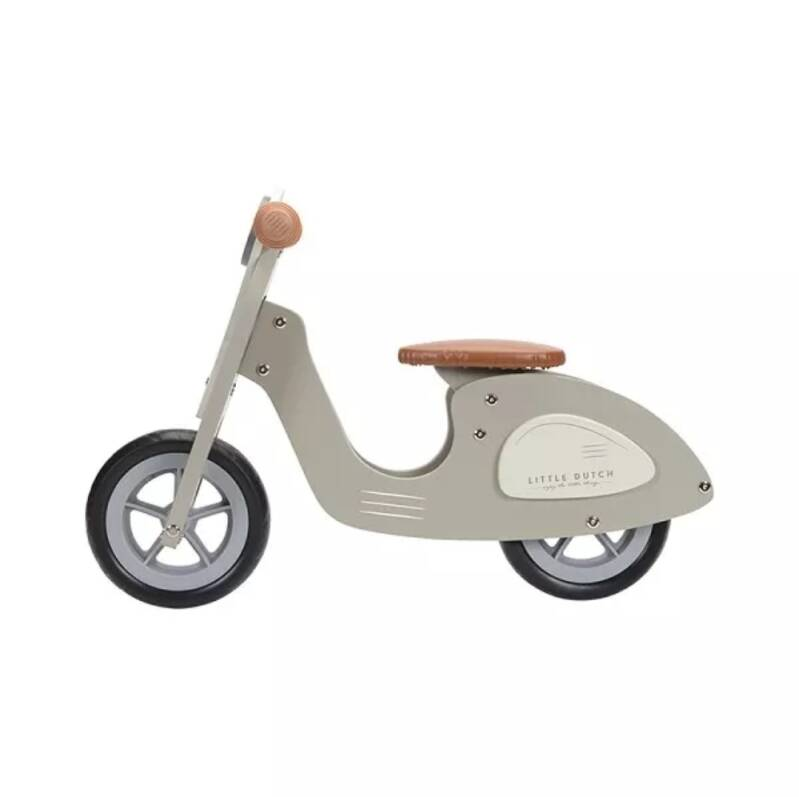 Little Dutch Loopscooter Groen