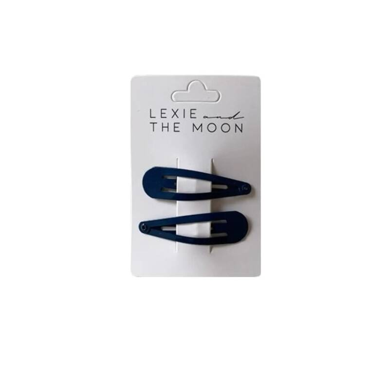 Lexie & The Moon - Hair Clip Dark Blue