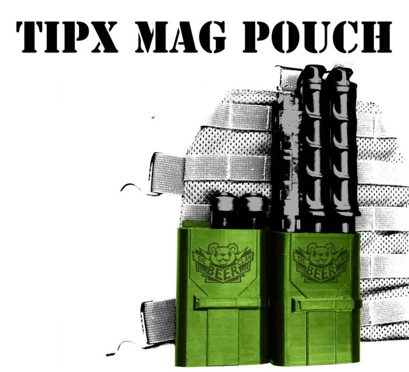 3x Tipx mag pouch with maglock