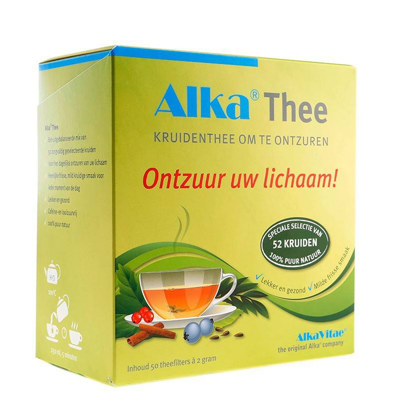 Alka® Thee 100 kruidenfilters 2 mg