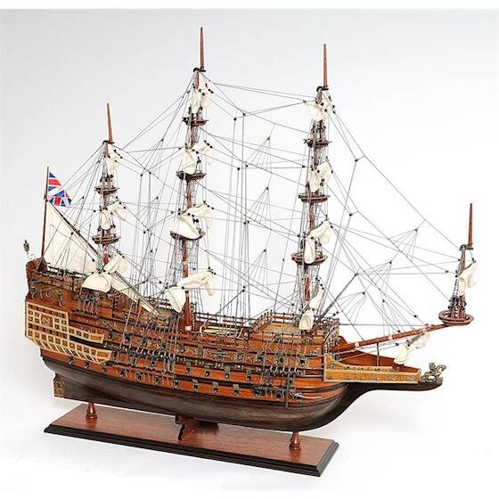 """Model Schip THE """"SOVEREIGN OF THE SEAS"""""""
