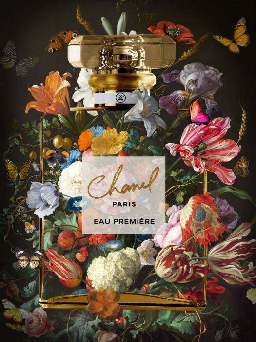 GlasArt Flowers of Chanel