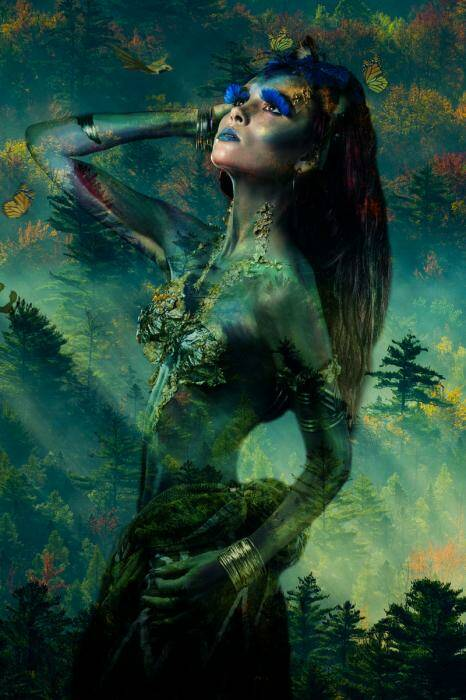 GlasArt Lady of the Forest