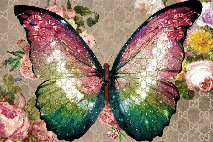 GlasArt Butterfly