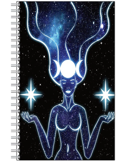 Queen Of The Moon and Stars Notebook