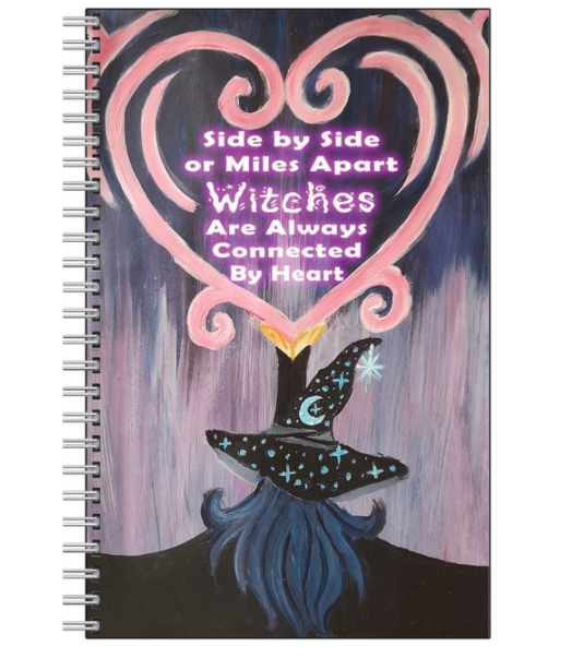 Heart Of A Witch Notebook