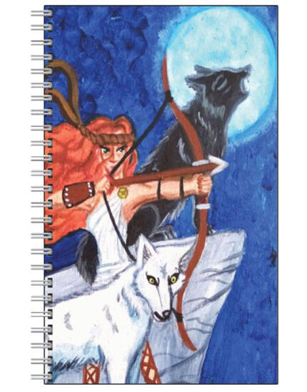 The Goddess Artemis Note Book