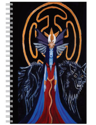 Hecate Goddess Of Witchcraft NoteBook