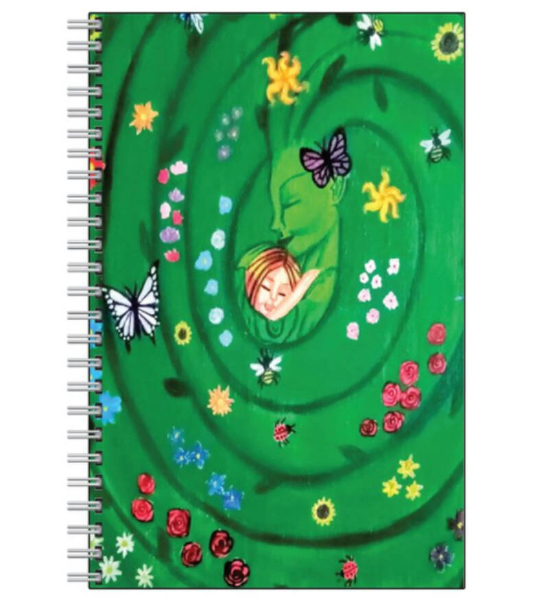Mother Earth Goddess Note Book