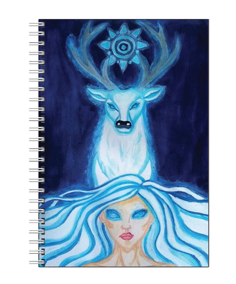 Spirit of The White Stag Note Book