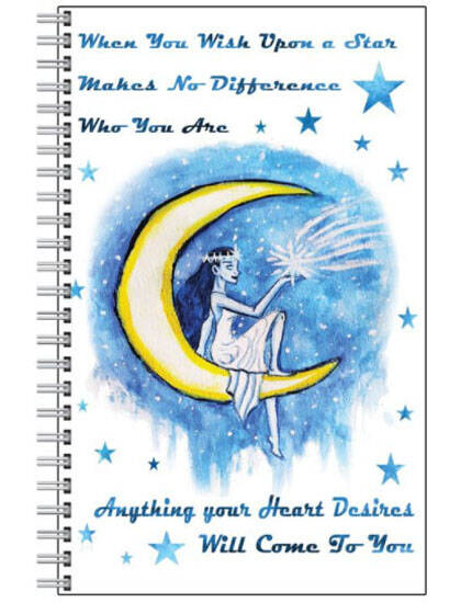 Wish Upon A Star NoteBook