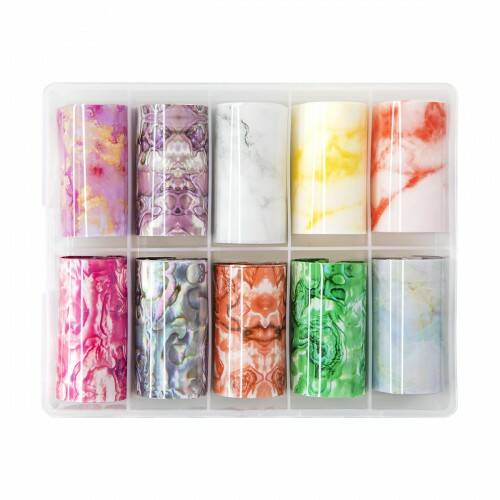 Transfer Foil Box Collection 3 MARBLE   Abstract