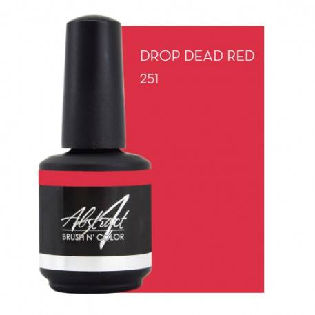Drop Dead Red 15ml | Abstract Brush N Color