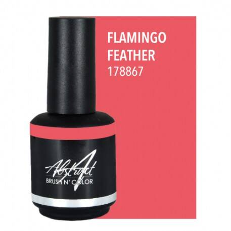 Flamingo Feather 15ml | Abstract Brush N Color