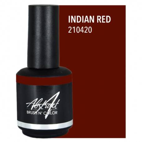 Indian Red 15ml | Abstract Brush N Color