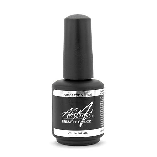 Rubber TOP & SHINE Top Gel 15ml | Abstract