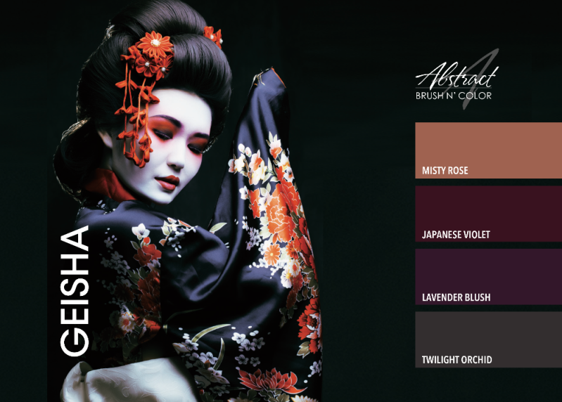Geisha Collection | Abstrac