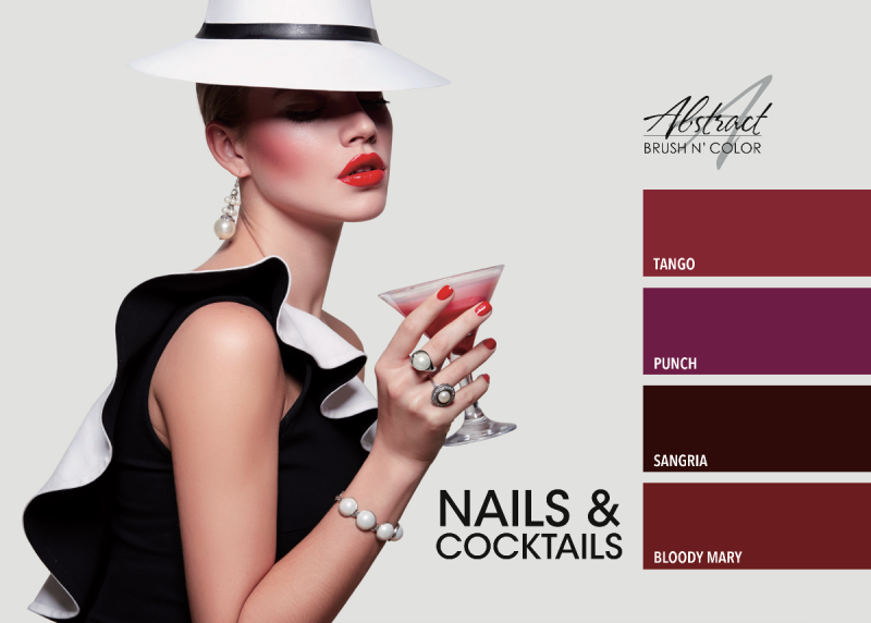 Nails & Cocktails Collection | Abstract Brush N Color