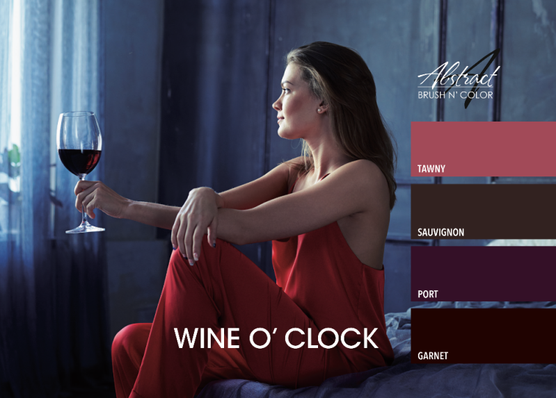 Wine O Clock Collection | Abstract