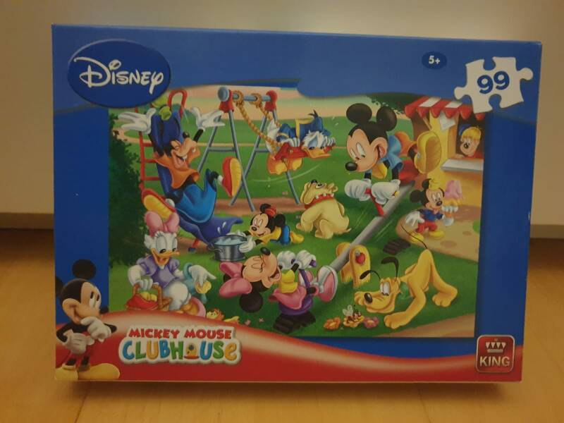 Puzzle Mickey Mouse - 99 Teile