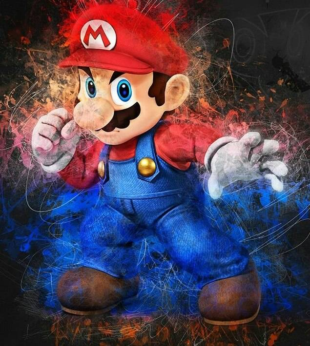 Super mario - Diamond Painting