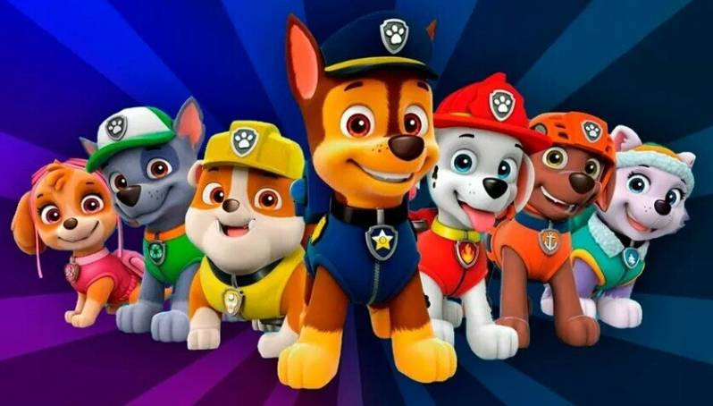 Paw Patrol - Diamond painting