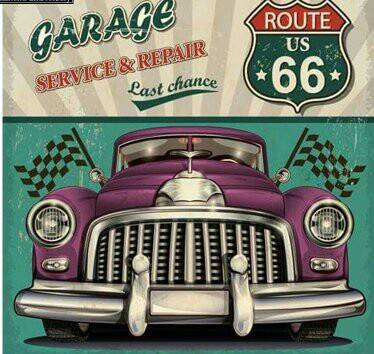 Route 66 - Diamond Painting