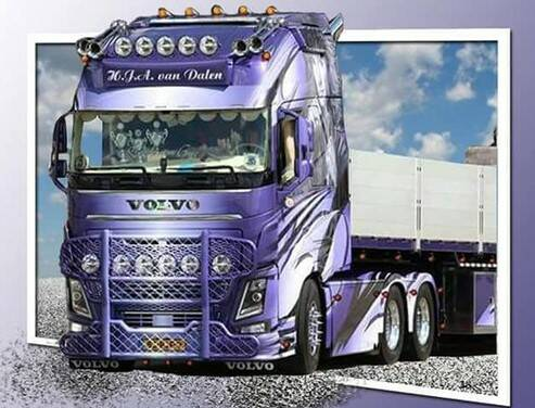volvo vrachtwagen - Diamond Painting