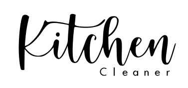 Kitchen Cleaner- sticker goud of zilver