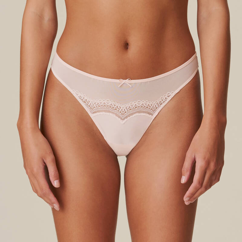 Marie Jo Dolores string glossy pink