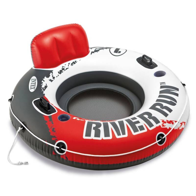 Intex loungestoel Red River Run 1 Fire Edition 135 cm rood
