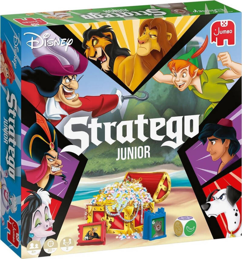 Jumbo gezelschapsspel Disney Stratego Junior