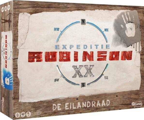 Just Games bordspel Expeditie Robinson - De Eilandraad (NL)
