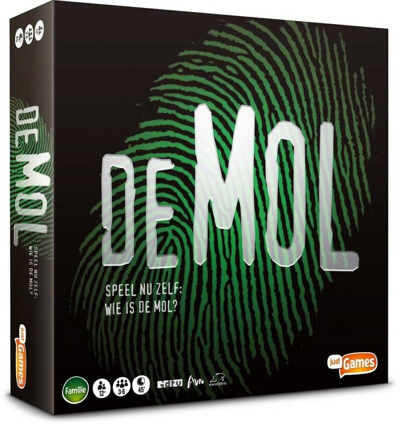 Just Games bordspel Wie is de Mol (BE)