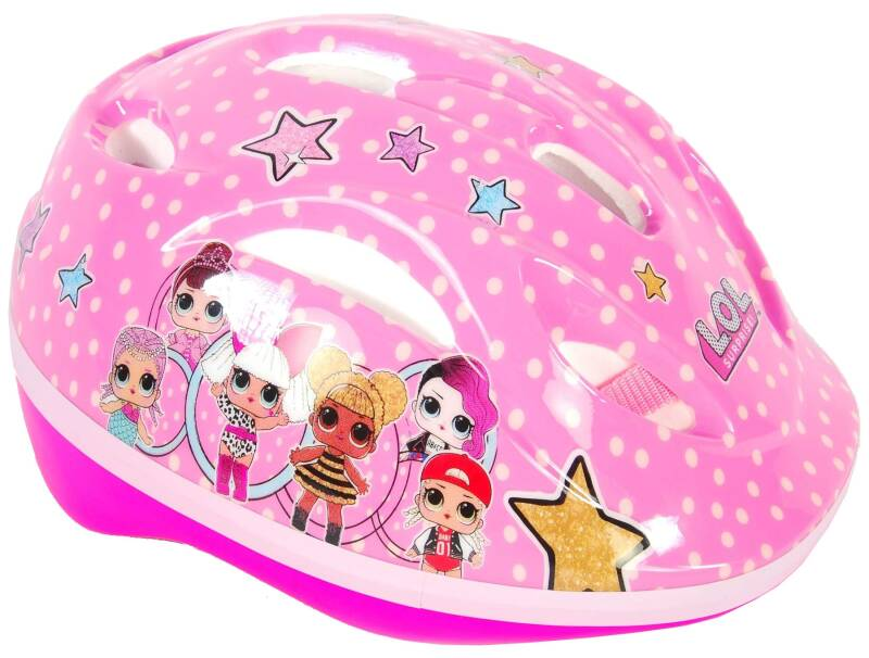 L.O.L. Surprise fiets/skatehelm LOL Surprise Junior roze