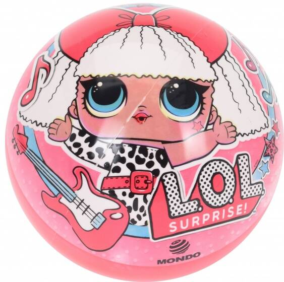 Mondo speelbal LOL Surprise 23 cm roze