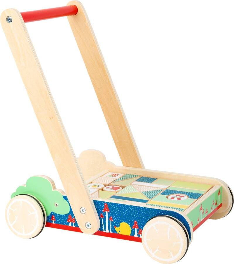 Small Foot houten loopwagen Move it! junior 28-delig