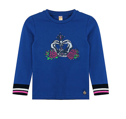 LONGSLEEVE / CROWN / True Blue VINROSE