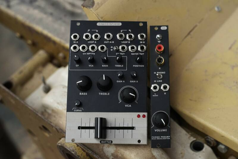 BATTLE + PHONO assembled with PROFADER